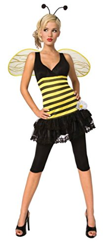 Morris Costumes Womens Insects Sweet As Honey Bumble Bee Adults Halloween Dress