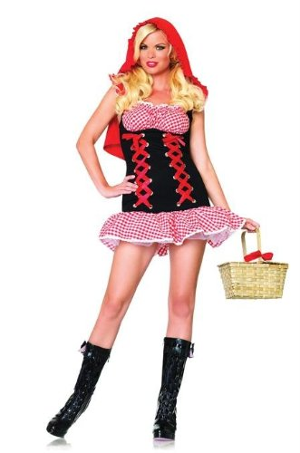Costumes For All Occasions Ua83640Ml Red Hot Riding Hood Med/Lrg