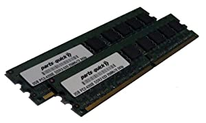 30R5153 4GB 2 X 2GB DDR2 Memory Upgrade for IBM/Lenovo Servers PC2-4200 533MHz 240 pin SDRAM ECC DIMM RAM (PARTS-QUICK BRAND)
