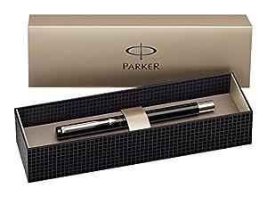 Parker Vector Black Medium Nib Fountain Pen - Gift Boxed
