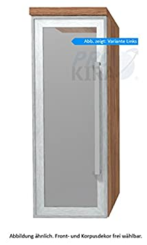 puris Star Line High board (hba513b7l/R) Mobile da bagno, 30 cm