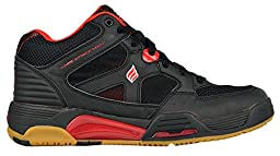 Ektelon NFS Attack Mid Racquetball Shoe-Red/Black-6.5