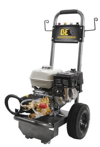 B E Pressure B2565Hcs Gas Powered Pressure Washer, Gx200, 2500 Psi, 3.0 Gpm front-382794