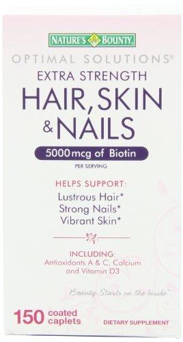 Nature's Bounty Extra Strength Hair Skin Nails,