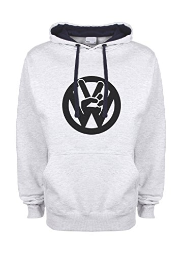 vw-volkswagen-peace-fingers-cool-sketch-friendly-bees-gris-bleu-tres-sombre-qualite-superieure-sweat