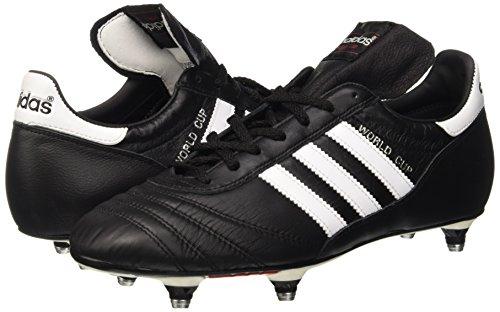adidas World Cup, Unisex-Erwachsene Fußballschuhe, Schwarz (Black/Running White Ftw), 42 2/3 EU (8.5 Erwachsene UK) -