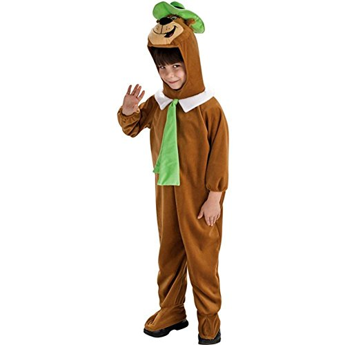 [Deluxe Yogi Bear Costume - Medium] (Yogi Bear Halloween Costume)