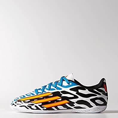 Buy adidas Junior F5 IN Messi Battle Pack White core Black Argentina Blue by adidas