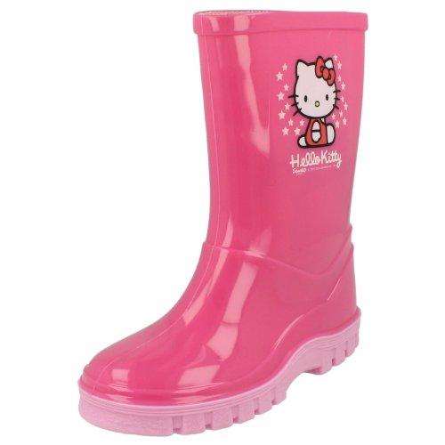 Hello Kitty, Stivali bambine, Rosa (Rosa), 9 UK