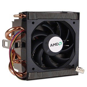 AMD Socket AM2 Copper Core/Heatpipes Heat Sink & Fan to 6000+