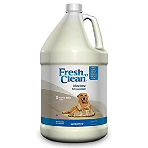 Lambert Kay Fresh N' Clean Creme Rinse, 15:1 Concentrate Gallon Size, Tropical Breeze Scent