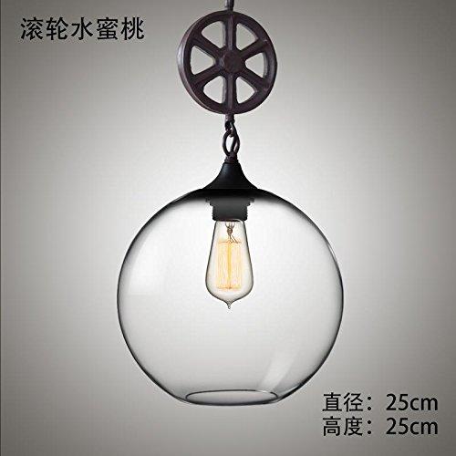 Moderna lampada pendente moderni lampadari Living Room Lounge Cafe Ristorante in stile bistro con minimalista e illuminazione contemporanea mashup rullo industriale lampadari, H