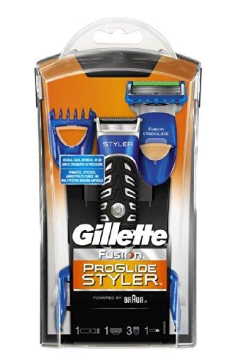 Gillette Fusion ProGlide Power Styler 3-in-1 Rasierer batteriebetrieben, Standard Verpackung