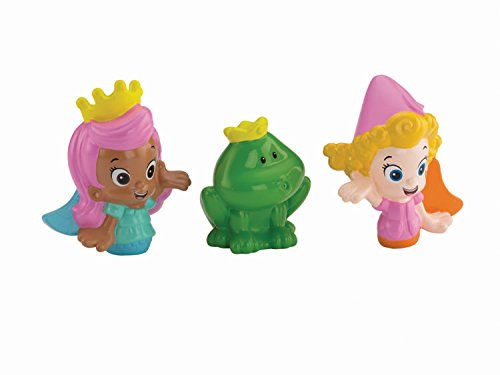 Fisher-Price Nickelodeon Bubble Guppies Molly, Deema and Frog Bath Squirters Toy - 1