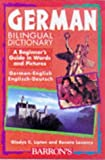img - for German Bilingual Dictionary (Beginning Dictionaries in Foreign Languages) by Gladys C. Lipton (1998-09-01) book / textbook / text book