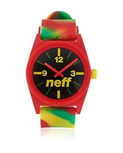 Neff Reloj de cuarzo Daily Multicolor 35  mm