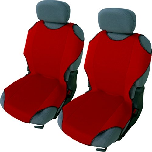 95-06 FRONT LEATHER LOOK PAIR CAR SEAT COVER SET VOLVO C70