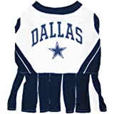 Pets First NFL Dallas Cowboys Dog Cheerleader, Small
