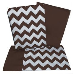 Chevron Rocking Chair Cushion - Color: Brown front-982229
