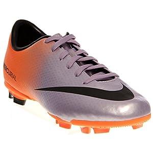 Nike Schuhe Kinder Jr mercurial victory iv fg Mtlc mach prpl/black-ttl orng, Größe Nike:1.5Y