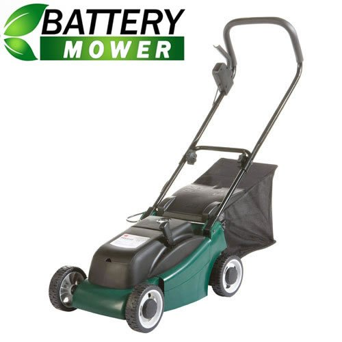 NEW TRUESHOPPING® GARDEN BATTERY POWERED ELECTRIC CORDLESS LAWNMOWER 24V