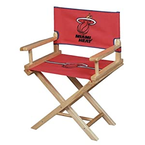 Guidecraft NBA Miami Heat Jr. Directors Chair