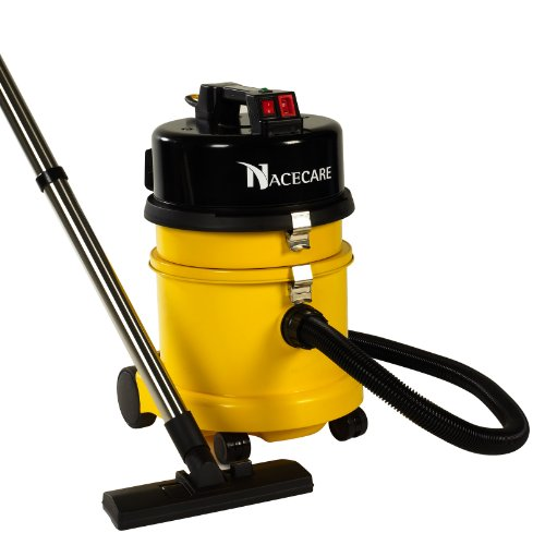 Nacecare Nvq372H Hazardous Dust Hepa Vacuum, 4.5 Gallon Capacity, 1.6Hp, 114 Cfm Airflow, 30' Power Cord Length front-388340