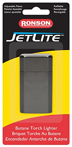 Ronson Jetlite Butane Torch Lighter - Satin Dusk