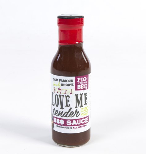 Love Me Tender Tangy Memphis Style BBQ Sauce