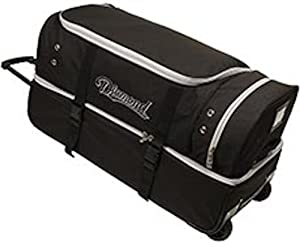 Diamond Sports Umpire Gear Bag with Wheels, 30-Inch by Diamond Sports