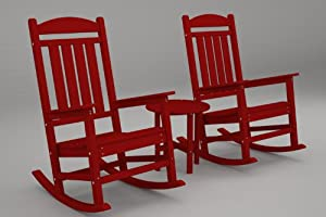 Polywood Presidential 3-Piece Rocker Set from Polywood Furniture