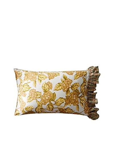 April Cornell Hydrangea Cushion, Lite Smoke