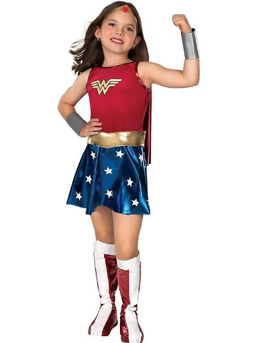 Deluxe Wonder Woman Costume - Large