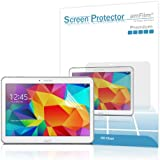 Galaxy Tab 4 10.1 Screen Protector, amFilm Screen Protector for Samsung Galaxy Tab 4 10.1 inch Premium HD Clear (2-Pack) [Lifetime Warranty]