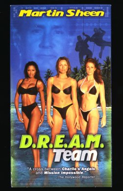 Dream Team [VHS] [Import] Jeff Kaake Angie Everhart Traci Bingham Eva Halina Rich Ian McShane Monarch Video