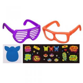 Furby Frames, Orange/Purple - 1