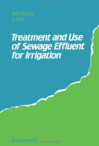 Treatment And Use Of Sewage Effluent For Irrigation: Proceedings Of The Fao Regional Seminar On The Treatment And Use Of Sewage Effluent For Irrigation Held In Nicosia, Cyprus, 7-9 October, 1985
