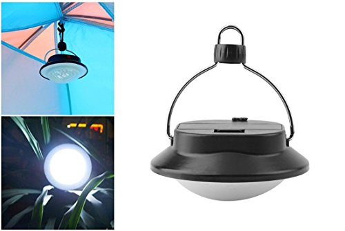 1 Pc Worthy Popular LED Nightlight Fishing Picnic Lamp Outdoor Tent Lantern Home Decor Color Black