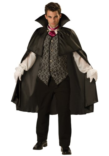 Incharacter Mens Scary Dracula Vampire Halloween Party Fancy Costume