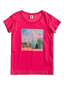 Roxy Riverdale C T-Shirt Honeysuckle FR : 10 ans (Taille Fabricant : T10)