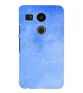 EPICCASE Bright Blue Sky Mobile Back Case Cover For LG Google Nexus 5X (Designer Case)