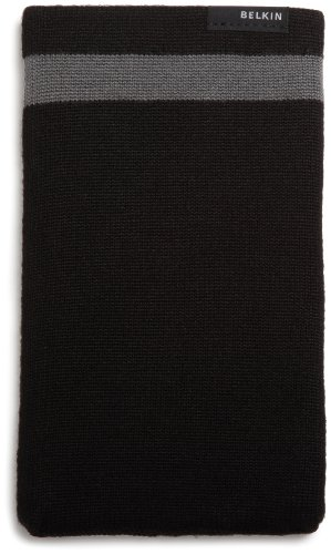 Belkin F8N517-BKW 6-Inch Display Knit Kindle Sleeve (Black/White)