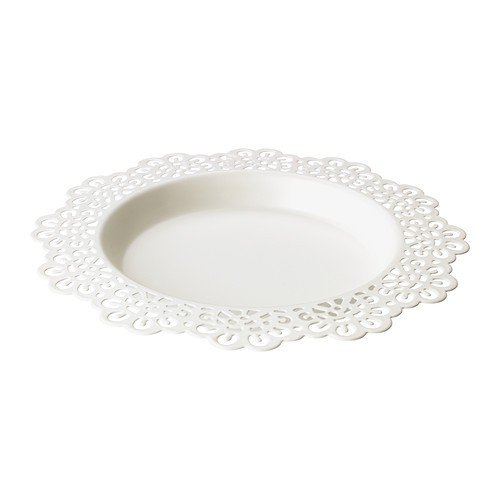 ikea-skurar-candle-dish-white-18-cm