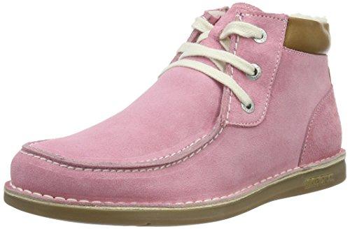BirkenstockPasadena High Kinder - Stivaletti corti imbottiti Bambina , Rosa (Rosa (Pink)), 33