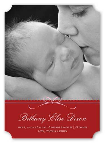 Welcome Baby Girl Card front-1030626