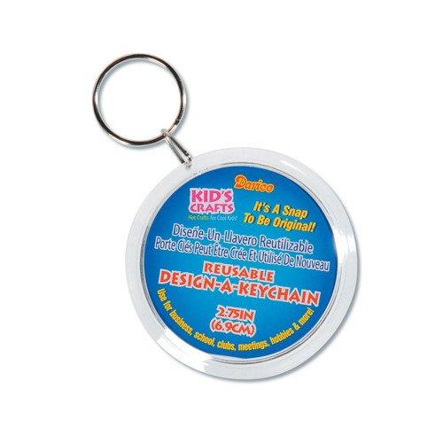 """WeGlow International Design-A-Keychain, 2.75"""", 6-Piece - 1"""