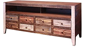 "Gregorio 70"" Mexican Rustic Pine TV Stand"