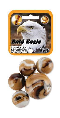 Bald Eagle 24 Player & 1 Shooter Mega Marbles Net Set - 1