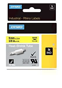 Tubos Label cable, 3/8 pulgadas, 5 pies, Amarillo (18054): Electronics