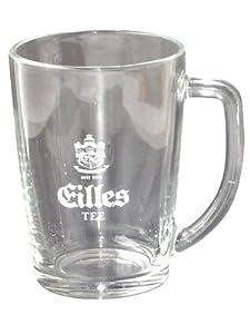 EILLES Tee - 6 Becher aus Glas mit Logo